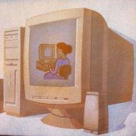 komputer - ogląd